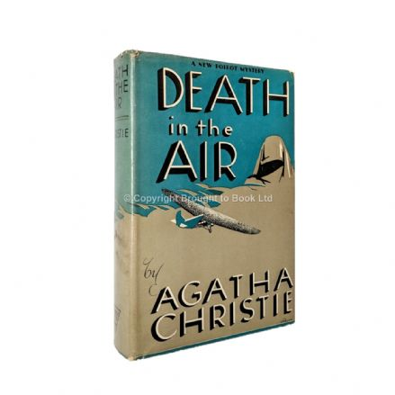 Death In the Air by Agatha Christie First Thus Triangle 1939